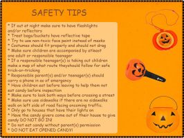Halloween Safety Tips Page WIP by Llendowyn