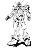 Gundam Drawing by Jinkspace