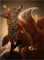 .::Golden::. by WhiteSpiritWolf