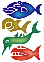 Four Fishes, 2008 by leavingsosoon