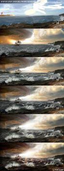 Step by step: SeaHeart by Tony-ob