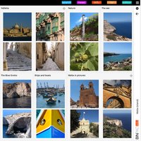 BinPad Editor Travel example Malta Level 2 pic by Xdroid-Inc