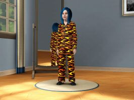 Sims 3 Equestria Girls - Young Indigo Zap pic 3 by Magic-Kristina-KW