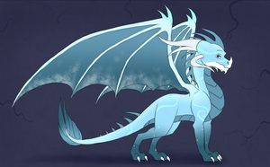 Dragon Egg Hatched - Icy Breeze by IcelectricSpyro