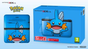 Nintendo 3DS XL Pokemon Series - Mudkip Edition by Paxxy