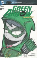 Octavia as Green Arrow by PonyGoddess