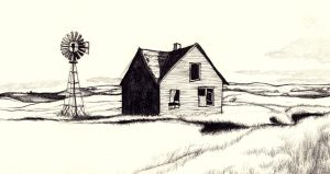 American Landscape Attempt by LilaBlack