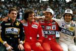 Senna | Prost | Mansell | Piquet (Portugal 1986) by F1-history