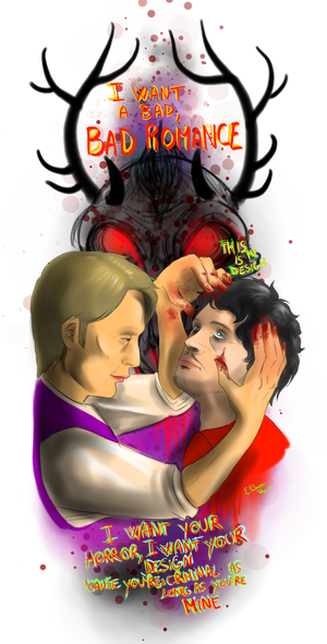 Hannibal - Bad Romance by FuriarossaAndMimma