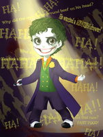 One-man Stand Up Joker by PolarAngie