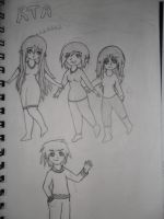old Chibi school cover not finished by Mirria1