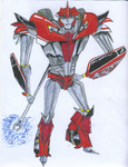 Knockout Decepticon Medic by Solarstormflare