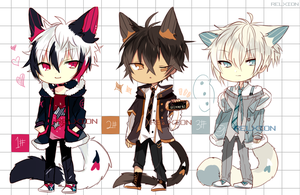 [AUCTION*CLOSED]Lineheart*30 by Relxion-kun
