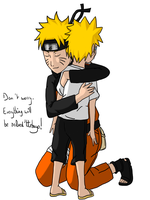 Naruto - Don't worry... by Minouze