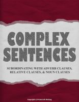 Complex Sentences: Book Cover by thefluffyshrimp