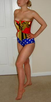 Wonder Woman costume by AlisaKiss