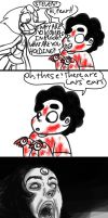 SKETCHY COMIC:: children are terrifying by Mushroom-Cookie-Bear