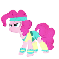 Work-out Pinkie Pie by Kawaii-Ariana