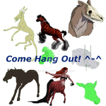 Free Art + Google Hangout by BlackMare234