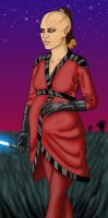 Jedi Maternity Robes by IndigoWolfe