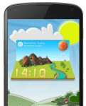 3D Natural Weather for XWidget(Compatible Android) by xwidgetsoft