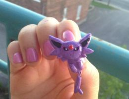 Espeon earring by Mechyx