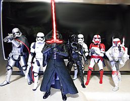 First Order troops with elite forces by Witchenboy13