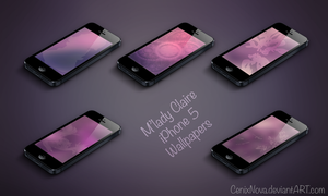 M'lady Claire iPhone 5 Wallpapers by CenixNova