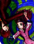OLDART: NARU and HP crossover by Capricornicis