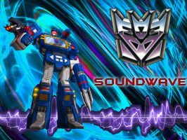 Soundwave wallpaper by BDixonarts