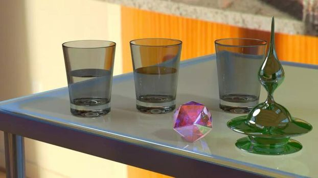 Glassware by ThreeViews