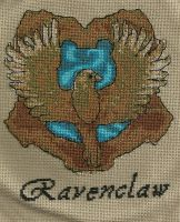 Ravenclaw House Badge by Scienceandart