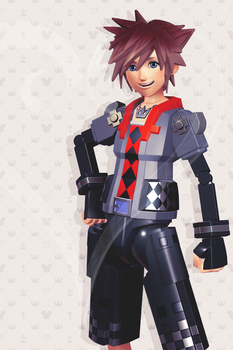 Toy Sora iPhone wallpaper by SnowEmbrace