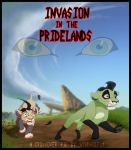 Invasion in the Pridelands Cover  by WindWo1f