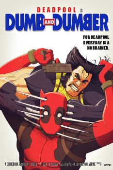 deadpool is dumb and dumber by m7781