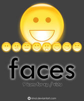 Faces Icons by kinol