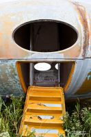 Abandoned Futuro House - Entry Way by element321