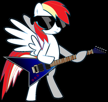 Bolt The Guitarist by StarShineTheAlicorn