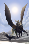 Over the Mountains - WS Winter to Spring Event by CrackMonster