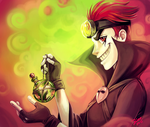 Jack Spicer by Blookarot