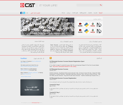 CATreloaded website by Ma7moudMetwally