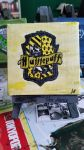 Hufflepuff on canvas by 88enigma