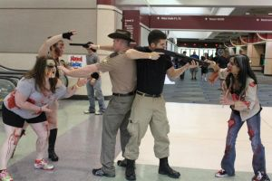 Cosplay: The Walking Dead by SavageVolpe