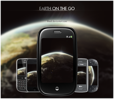 On the go: The Earth by TheAL