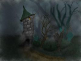 Scary Tower by Cruzio
