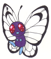 Pokemon - Butterfree by Angelkitty17