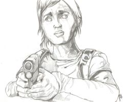 Last of Us Ellie - Day 4 by csteoh