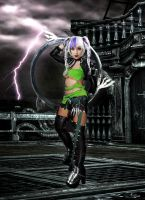 tira soulcalibur V cosplay by Lucifairy7