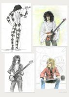 Queen - various drawings by Loony-Lucy