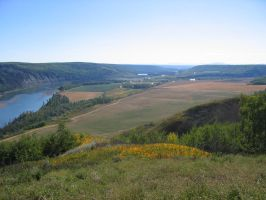 The Peace River Valley by FancyFish77
